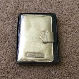 Bebe passport wallet brand new
